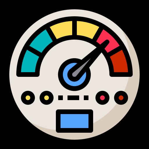 Website speedometer